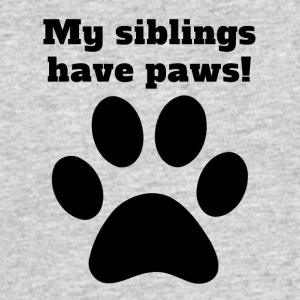 My Siblings Have Paws - Men's 50/50 T-Shirt