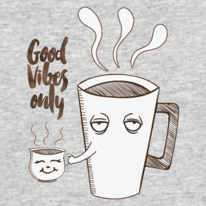 Coffee Good Vibes Only - Men's 50/50 T-Shirt