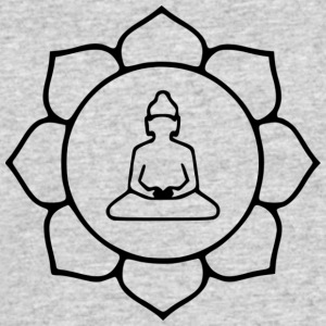 Lotus buddha svg - Men's 50/50 T-Shirt