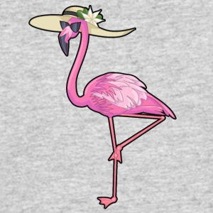 Flamingo Chick - Men's 50/50 T-Shirt