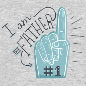 I am the father #1 - Men's 50/50 T-Shirt