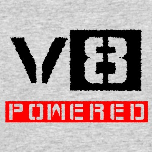 V8 powered red - Men's 50/50 T-Shirt