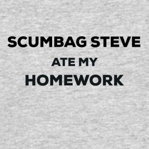 scumbag steve ate my homework - Men's 50/50 T-Shirt