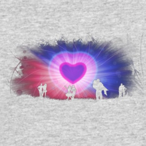 Romance and Love - Men's 50/50 T-Shirt