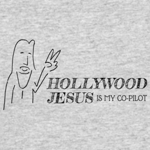 Hollywood Jesus Horizontal - Men's 50/50 T-Shirt
