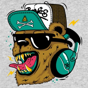 Boom Boom Bear - Men's 50/50 T-Shirt