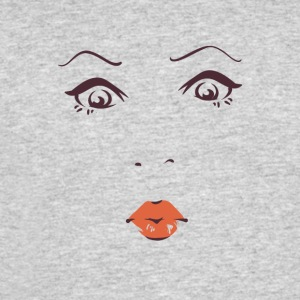 Confused woman face - Men's 50/50 T-Shirt