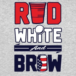 red white and brew - Men's 50/50 T-Shirt