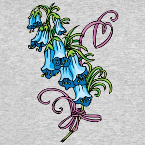 blue_hanging_flowers_2 - Men's 50/50 T-Shirt