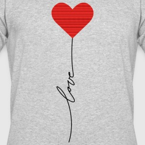 Love balloon - Men's 50/50 T-Shirt
