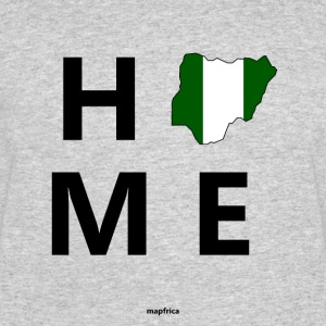 Nigeria Home Flag Map - Men's 50/50 T-Shirt