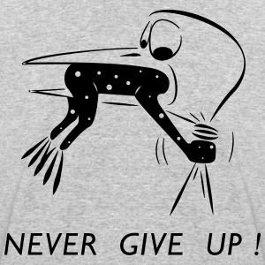 Never give up - Men's 50/50 T-Shirt