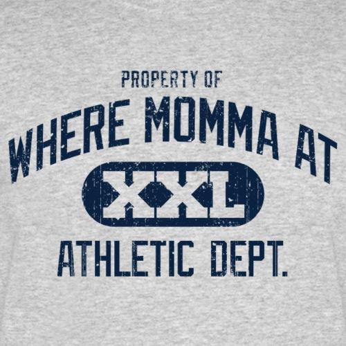 Where Momma At - Men's 50/50 T-Shirt