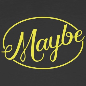 MAYBE - Men's 50/50 T-Shirt