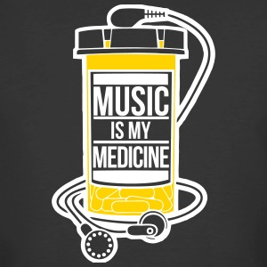 Music is my medicine - Men's 50/50 T-Shirt
