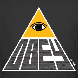 Obey Pyramid - Men's 50/50 T-Shirt