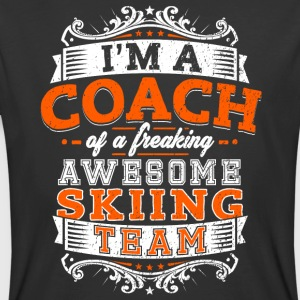 I'm a coach of a freaking awesome skiing team - Men's 50/50 T-Shirt