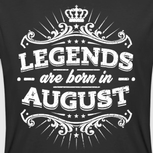 Legends Are Born In August Birthday Shirt - Men's 50/50 T-Shirt