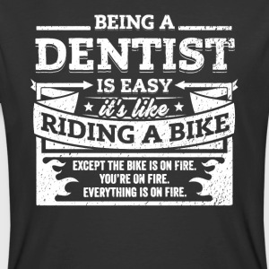 Dentist Shirt: Being A Dentist Is Easy - Men's 50/50 T-Shirt