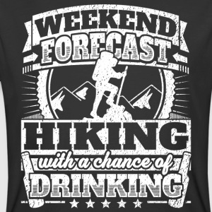 Weekend Forecast Hiking Drinking Tee - Men's 50/50 T-Shirt