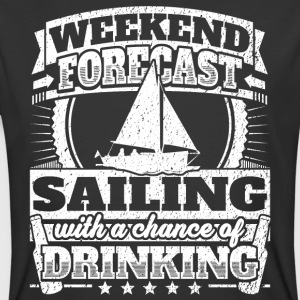 Weekend Forecast Sailing Drinking Tee - Men's 50/50 T-Shirt