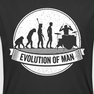 Funny Drumming Graphic Drummer Evolution Drums Tee - Men's 50/50 T-Shirt