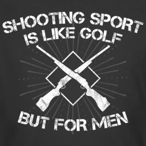 Shooting Sport/Shooting Range/Shooter/Sharpshooter - Men's 50/50 T-Shirt