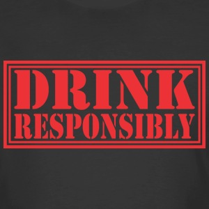 Drink Resposibly - Men's 50/50 T-Shirt