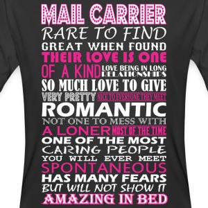 Mail Carrier Rare To Find Romantic Amazing To Bed - Men's 50/50 T-Shirt