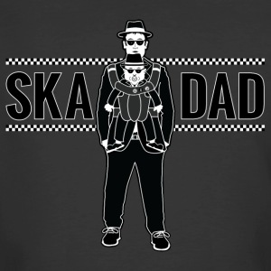 Ska Dad (with Rude Boy Son) - Men's 50/50 T-Shirt