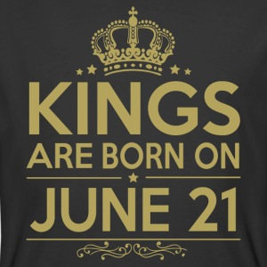 Kings are born on JUNE 21 - Men's 50/50 T-Shirt