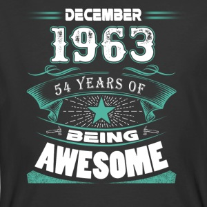 December 1963 - 54 years of being awesome - Men's 50/50 T-Shirt