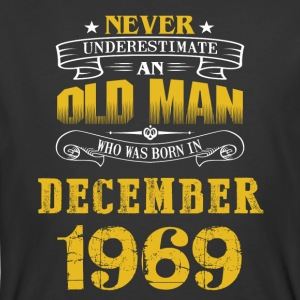 An Old Man Who Was Born In December 1969 - Men's 50/50 T-Shirt