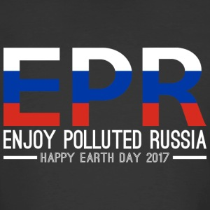 EPR Enjoy Polluted Russia Happy Earth Day 2017 - Men's 50/50 T-Shirt