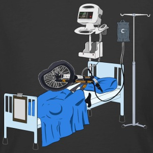 Hospitalised Downhill Bike - Men's 50/50 T-Shirt