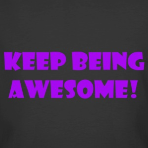 being awesome - Men's 50/50 T-Shirt