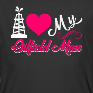 I Love My Oilfield Man Shirt - Men's 50/50 T-Shirt