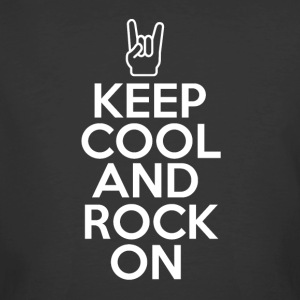 Keep Cool - Rock On - T-shirt 50/50 pour hommes