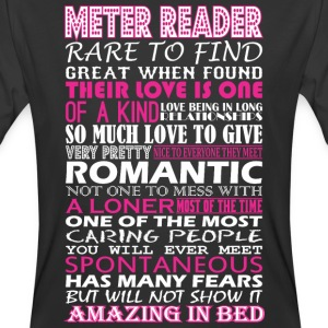 Meter Reader Rare To Find Romantic Amazing To Bed - Men's 50/50 T-Shirt