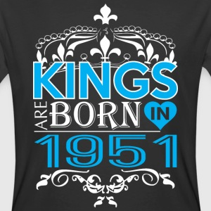 Kings Are Born In 1951 Happy Fathers Day - Men's 50/50 T-Shirt
