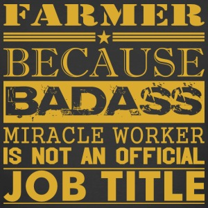 Farmer Because Miracle Worker Not Job Title - Men's 50/50 T-Shirt