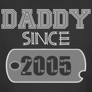 Daddy Since Tag 2005 Happy Fathers Day - Men's 50/50 T-Shirt