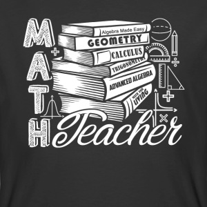 MATH TEACHER TEE SHIRT - Men's 50/50 T-Shirt