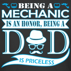 Being Mechanic Is Honor Being Dad Priceless - Men's 50/50 T-Shirt