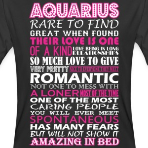 Aquarius Rare To Find Romantic Amazing To Bed - Men's 50/50 T-Shirt