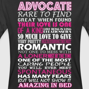 Advocate Rare To Find Romantic Amazing To Bed - Men's 50/50 T-Shirt