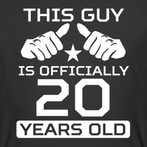 This Guy Is 20 Years Funny 20th Birthday - Men's 50/50 T-Shirt