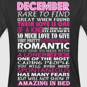 December Rare To Find Romantic Amazing To Bed - Men's 50/50 T-Shirt