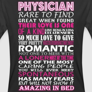 Physician Rare To Find Romantic Amazing To Bed - Men's 50/50 T-Shirt