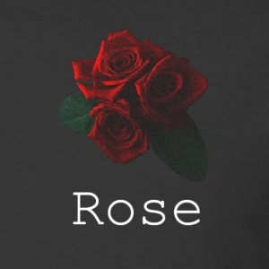 Rose [White] - Men's 50/50 T-Shirt
